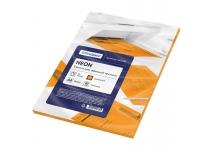 Бумага цветная OfficeSpace neon А4(оранжевый)