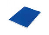 Тетрадь бумвинил, А4, 96л. клетка STAFF синий