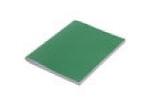 Тетрадь бумвинил А4 96 л. клетка STAFF зеленый